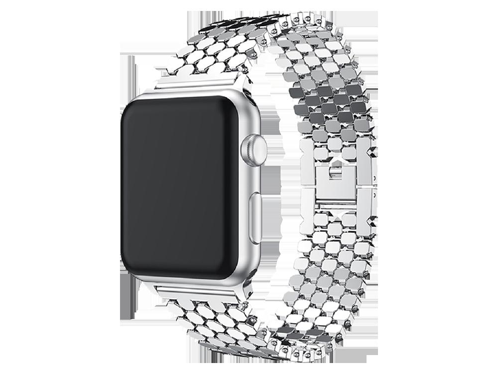 E2M Apple Watch 42-44 mm KRD-16 Metal Kordon