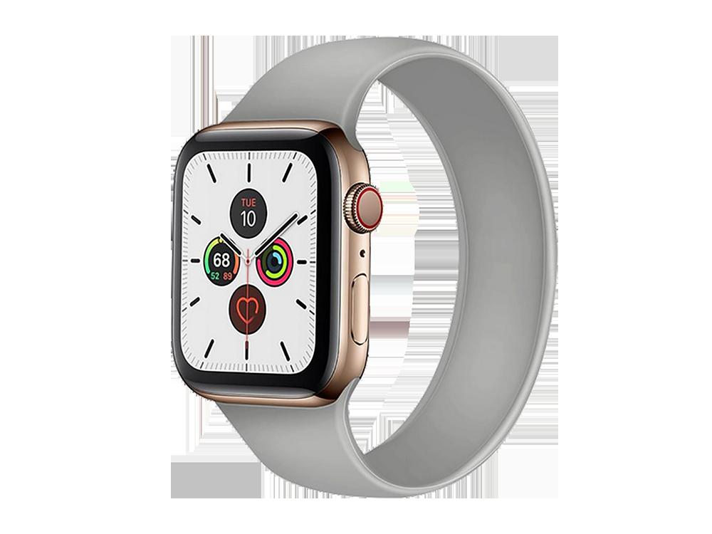 E2M Apple Watch 38-40 mm KRD-18 Silikon Solo Kordon L Beden - 1