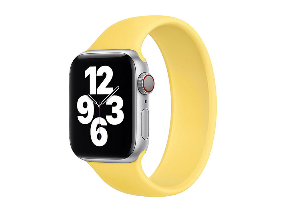 E2M Apple Watch 42-44 mm KRD-18 Silikon Solo Kordon S Beden-2