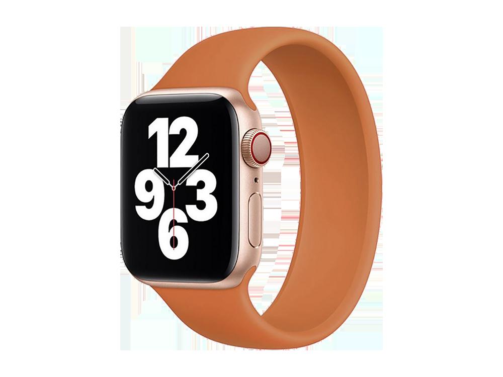 E2M Apple Watch 38-40 mm KRD-18 Silikon Solo Kordon M Beden-2
