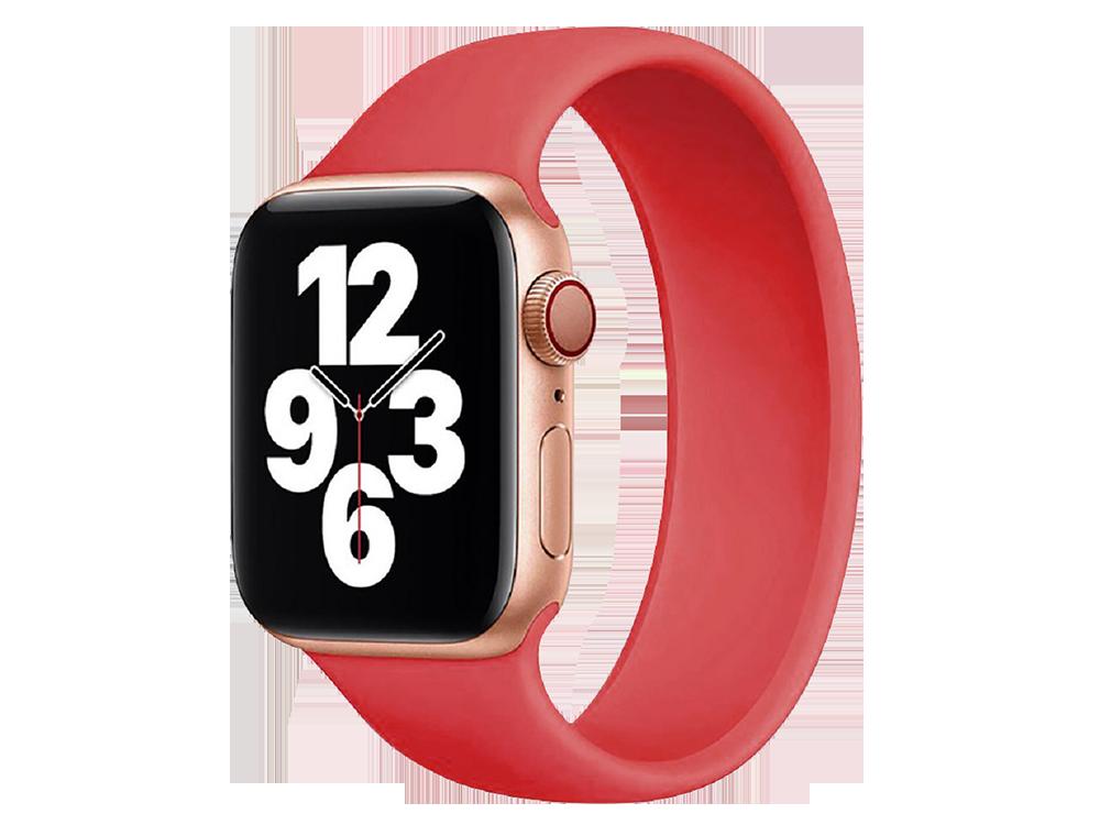 E2M Apple Watch 42-44 mm KRD-18 Silikon Solo Kordon M Beden -1