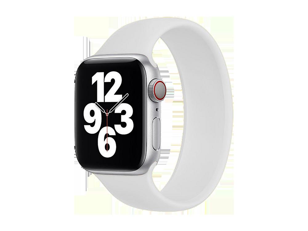 E2M Apple Watch 38-40 mm KRD-18 Silikon Solo Kordon M Beden - 1