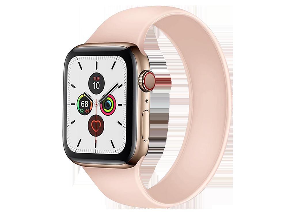E2M Apple Watch 42-44 mm KRD-18 Silikon Solo Kordon M Beden -2