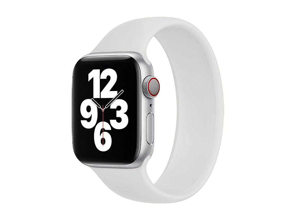 E2M Apple Watch 42-44 mm KRD-18 Silikon Solo Kordon S Beden - 1