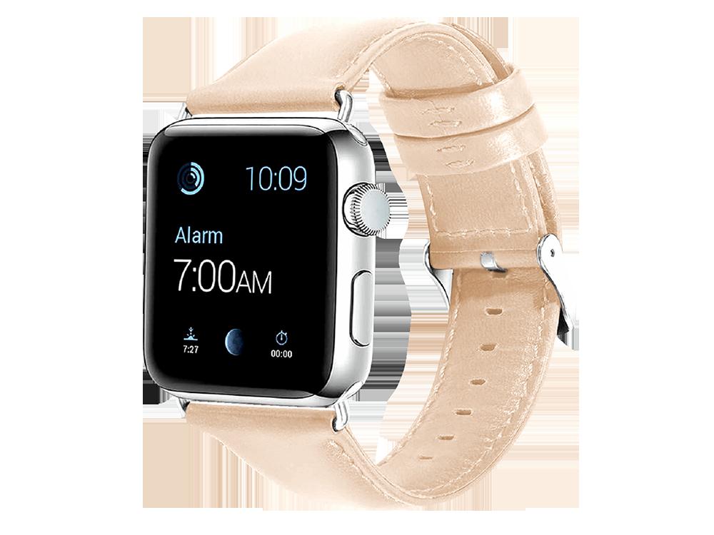 E2M Apple Watch 42-44 mm KRD-10 Deri̇ Kordon-2