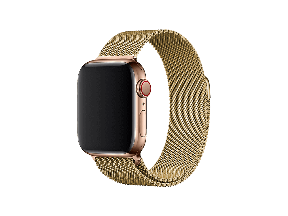 E2M Apple Watch 42-44 mm KRD-01 Metal Hasır Kordon
