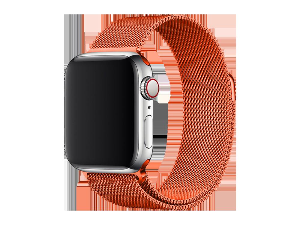 E2M Apple Watch 42-44 mm KRD-01 Metal Hasır Kordon