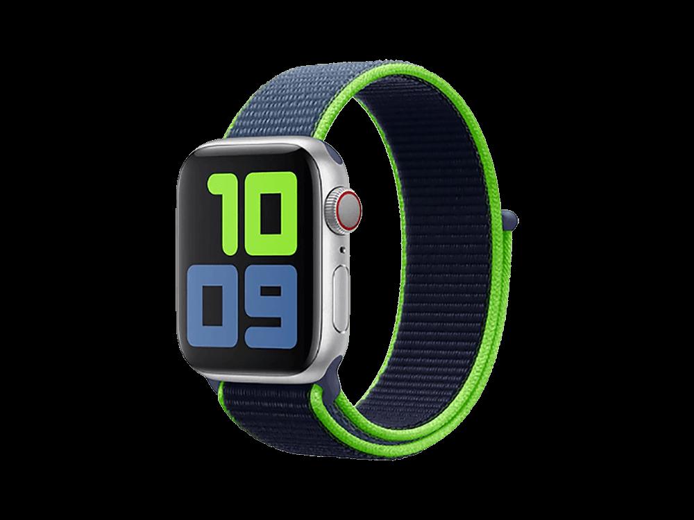 E2M Apple Watch 42-44 mm KRD-03 Hasır Kordon - 2