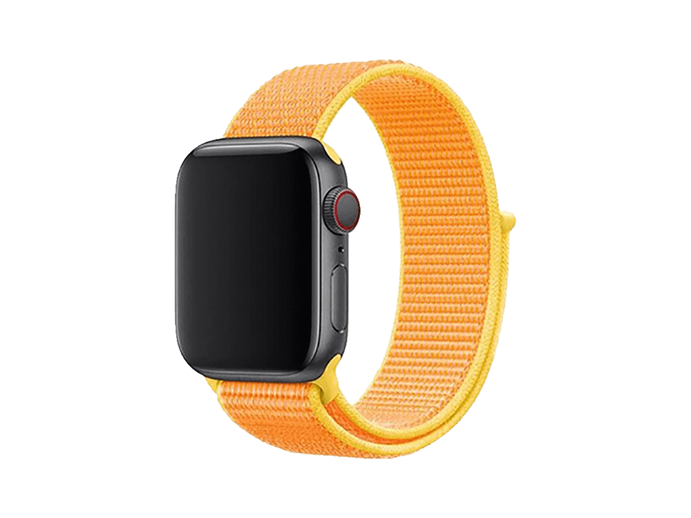 E2M Apple Watch 42-44 mm KRD-03 Hasır Kordon - 3