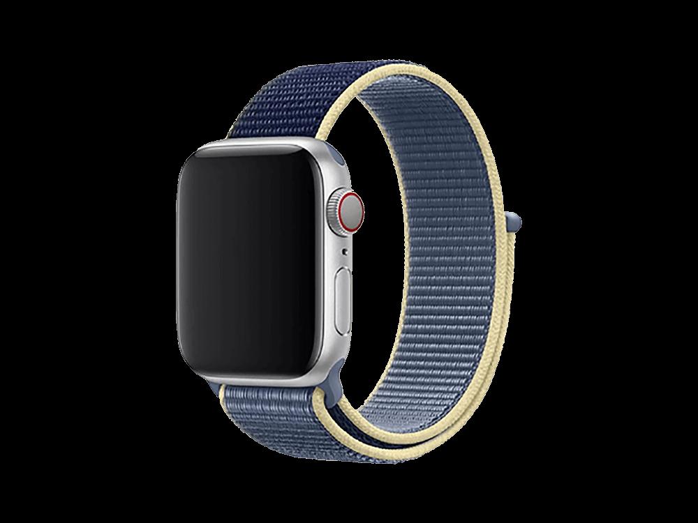 E2M Apple Watch 42-44 mm KRD-03 Hasır Kordon - 4