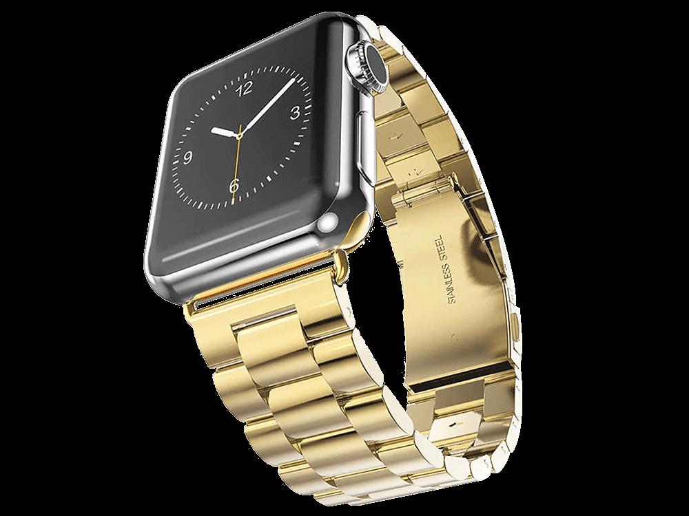 E2M Apple Watch 42-44 mm KRD-05 Klasik Metal Kordon