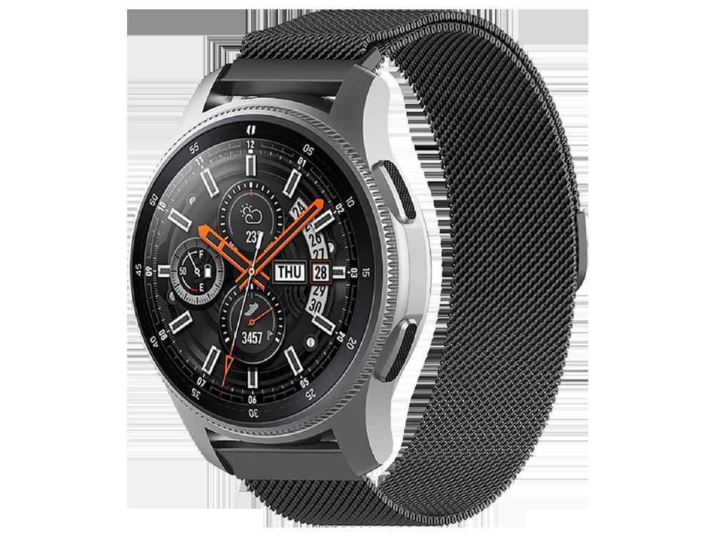 E2M Huawei Watch 22 mm KRD-01 Metal Hasır Kordon