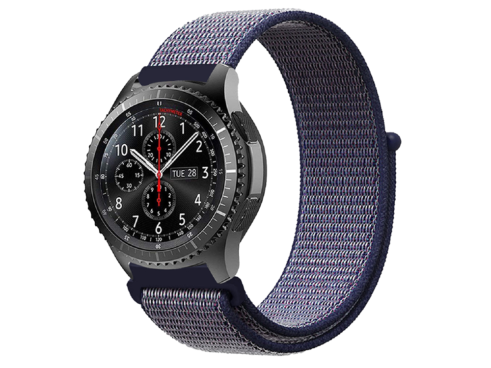 E2M Huawei Watch 22 mm KRD-03 Hasır Kordon - 1