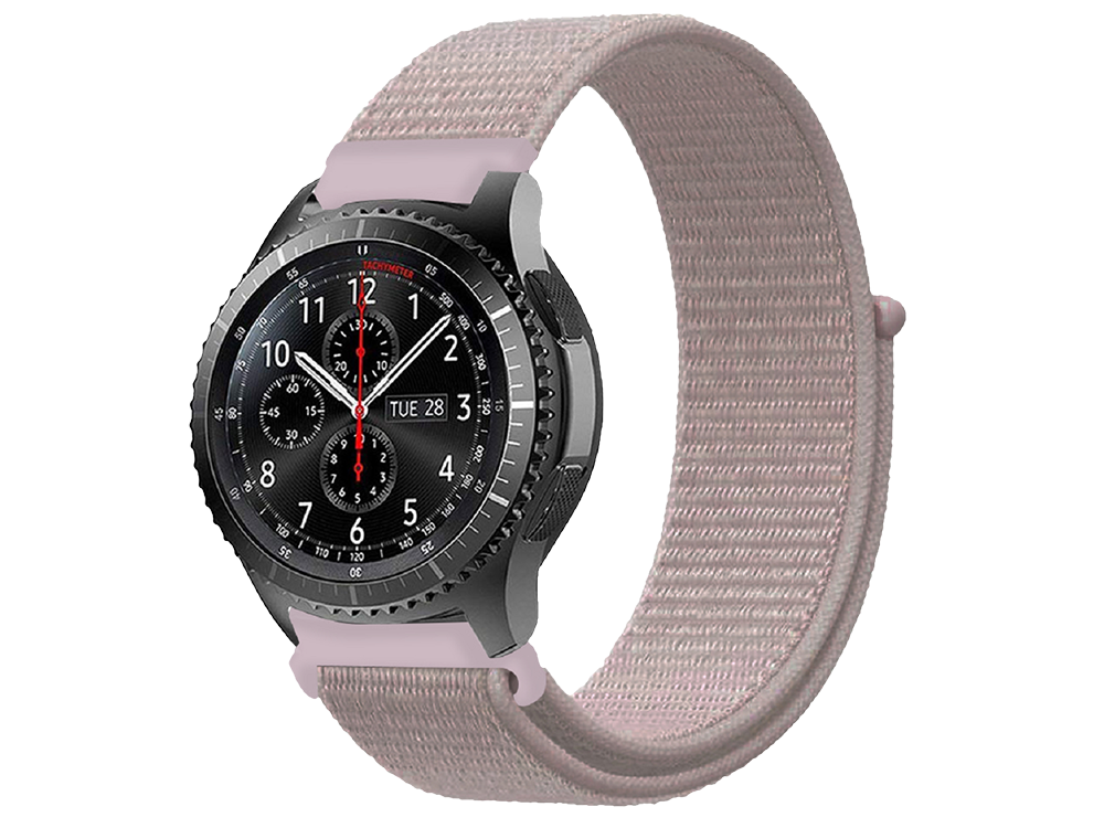 E2M Huawei Watch 20 mm KRD-03 Hasır Kordon-3