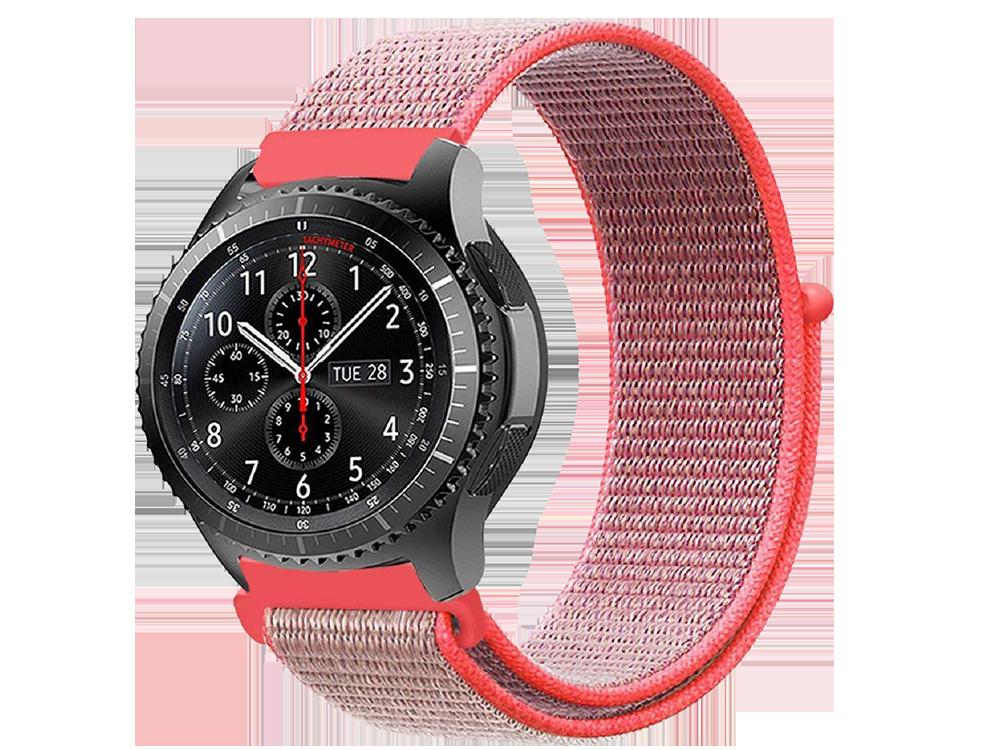 E2M Huawei Watch 22 mm KRD-03 Hasır Kordon - 3