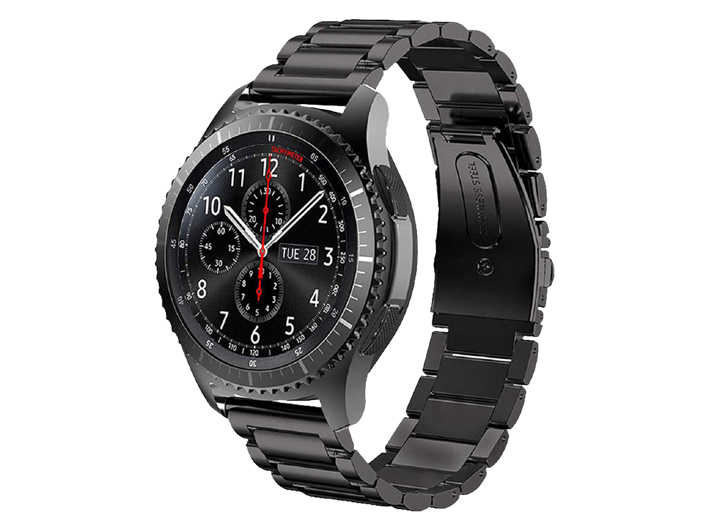 E2M Huawei Watch 22 mm KRD-05 Klasik Metal Kordon