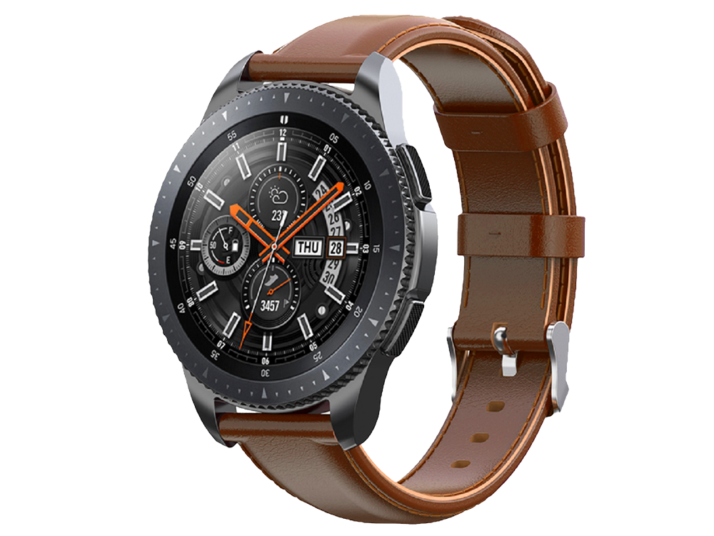 E2M Huawei Watch 20 mm KRD-10 Deri Kordon