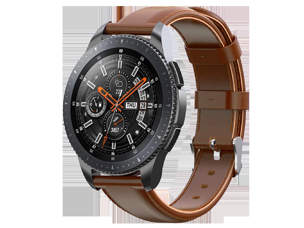 E2M Huawei Watch 22 mm KRD-10 Deri Kordon