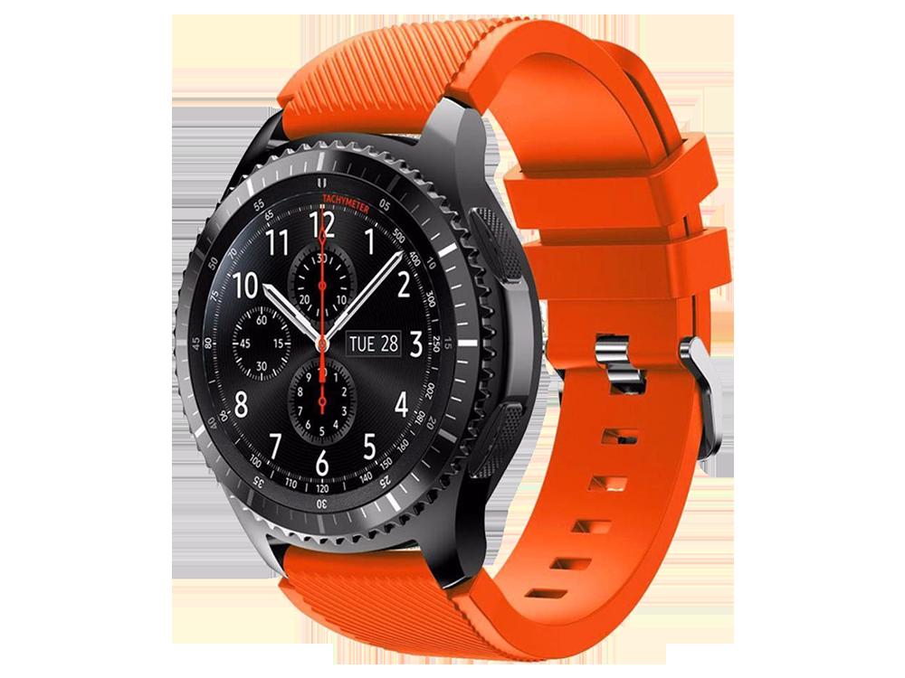 E2M Huawei Watch 22 mm KRD-12 Fronti̇er Si̇li̇kon Kordon - 2