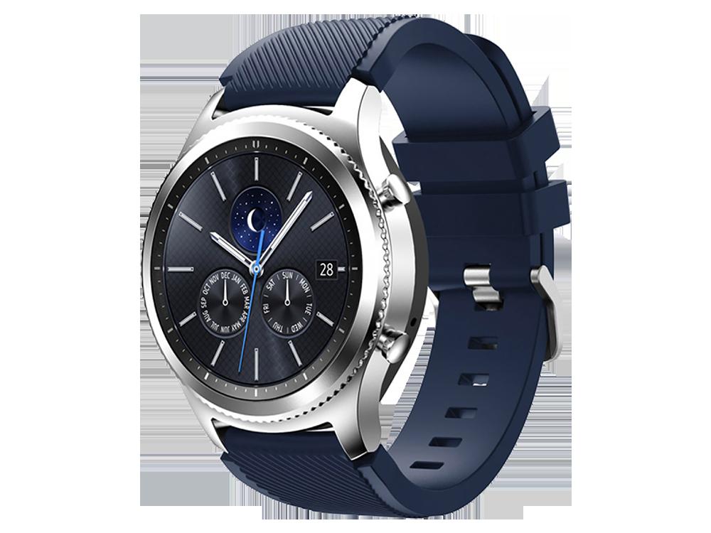 E2M Huawei Watch 22 mm KRD-12 Fronti̇er Si̇li̇kon Kordon - 1
