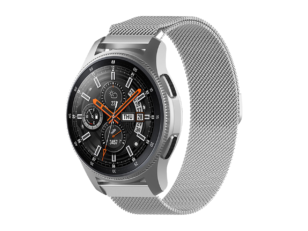 E2M Samsung Watch 22 mm KRD-01 Metal Hasır Kordon