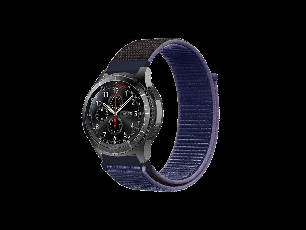 E2M Samsung Watch 20 mm KRD-03 Hasır Kordon-1