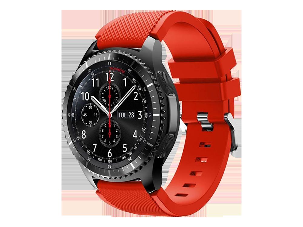 E2M Samsung Watch 20 mm KRD-12 Frontier Si̇li̇kon Kordon-1