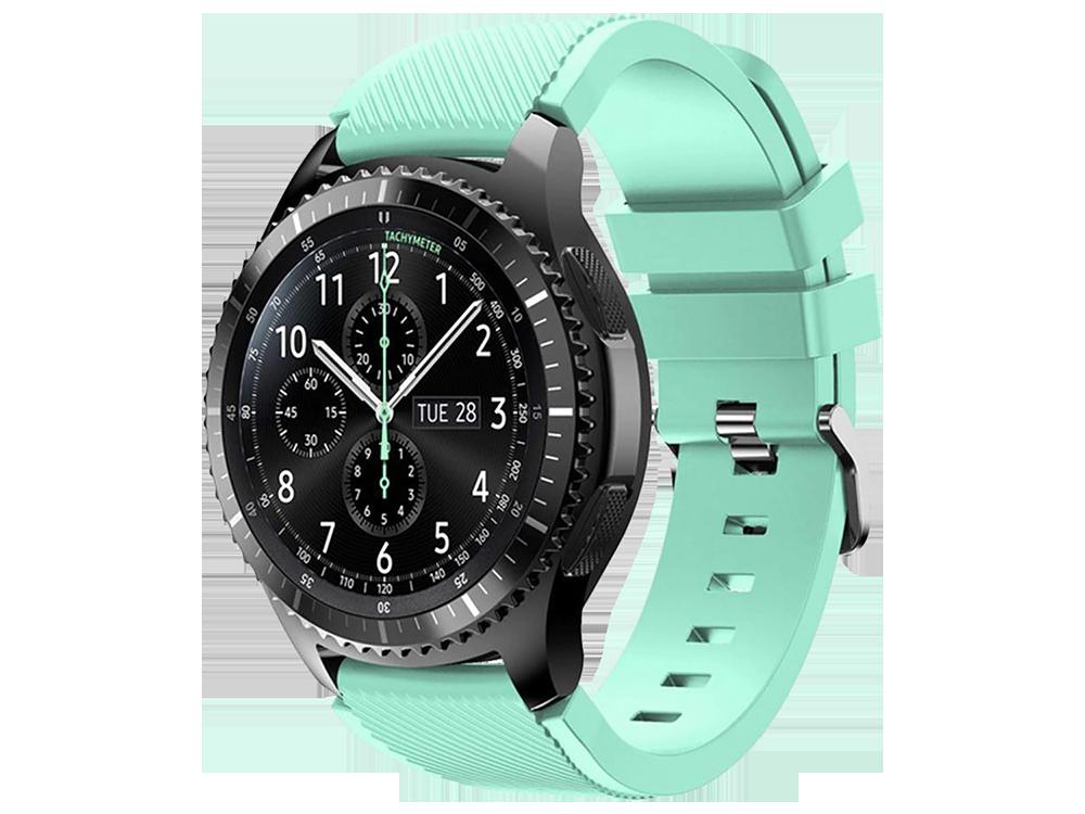 E2M Samsung Watch 20 mm KRD-12 Frontier Si̇li̇kon Kordon-2