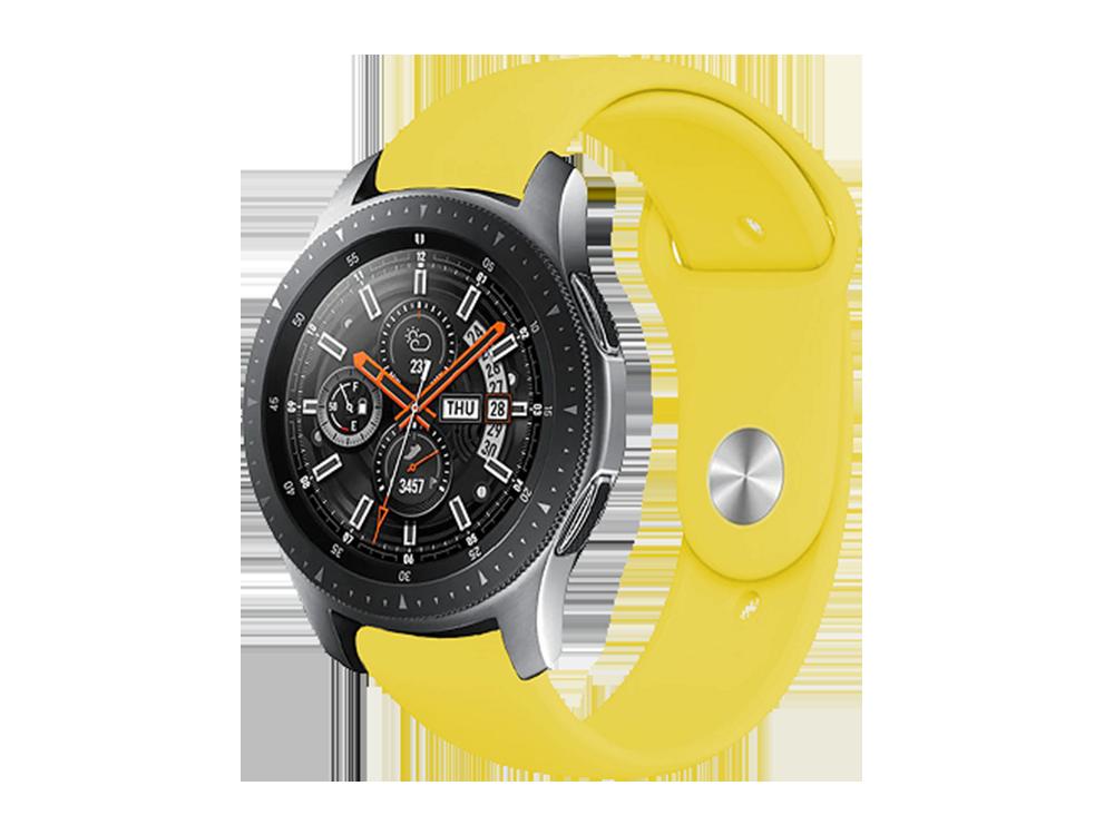 E2M Samsung Watch 20 mm KRD-19 Classic Silikon Kordon-1