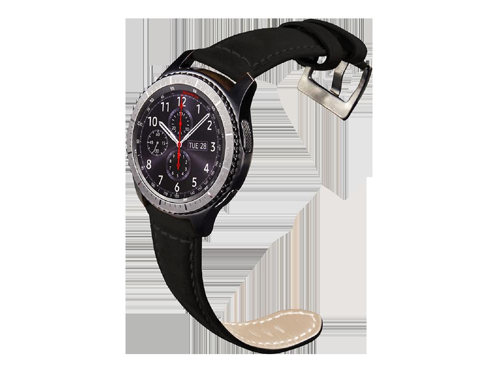 E2M Samsung Watch 22 mm KRD-21 Süet Kordon