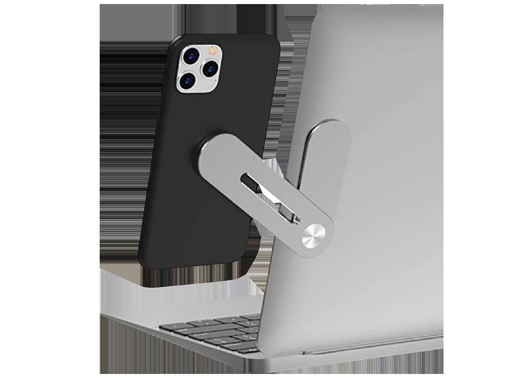 E2M STD-05 Laptop İçi̇n Metal Telefon Tutucu