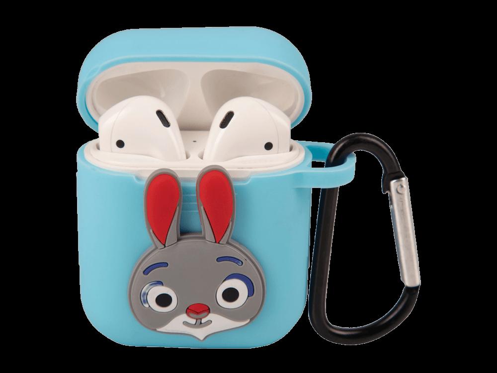 E2M Tavşan Silikon AirPods Kılıfı