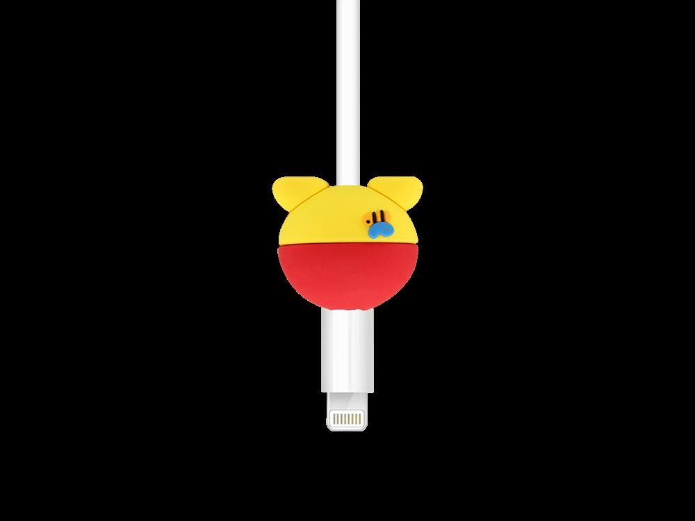 E2M Winnie The Pooh Silikon Kablo Koruyucu