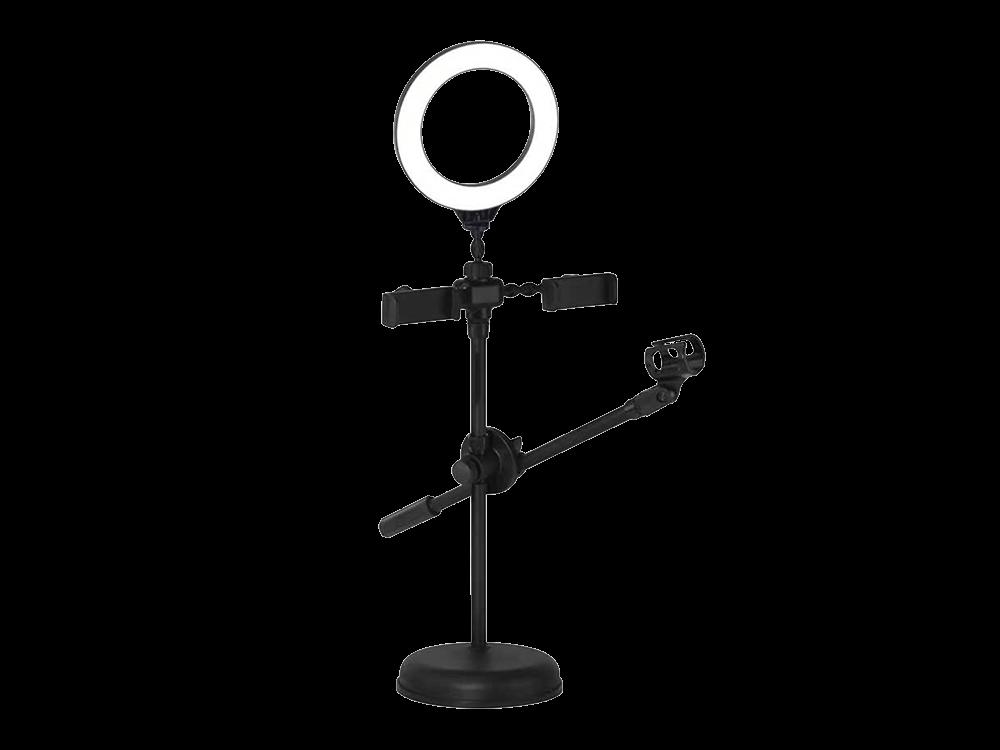 E2M YTB-06 Duo 16 cm Metal Işıklı Stand