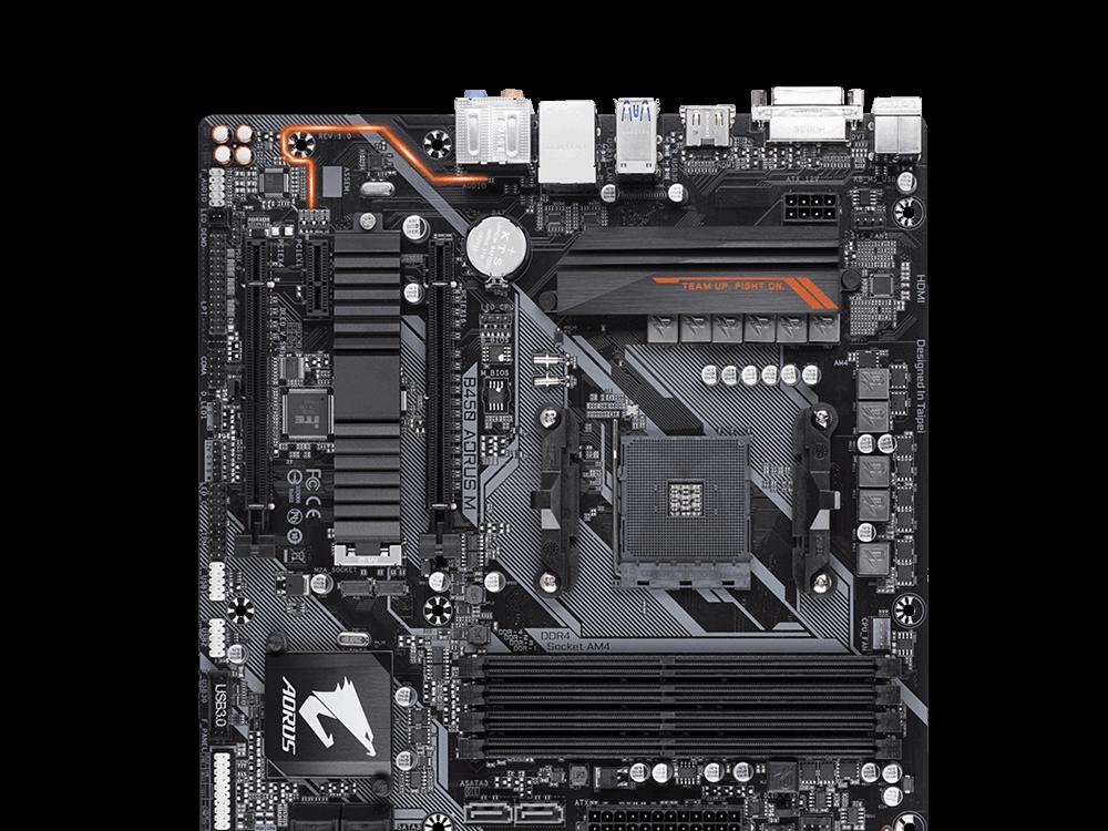 Gigabyte B450 Aorus M 3200MHz DDR4 Socket Am4 Anakart