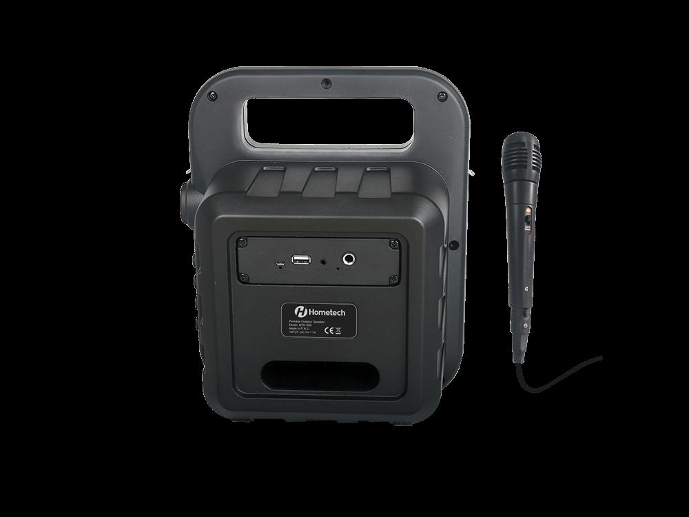 Hometech BTH-500 Mikrofonlu Bluetooth Hoparlör