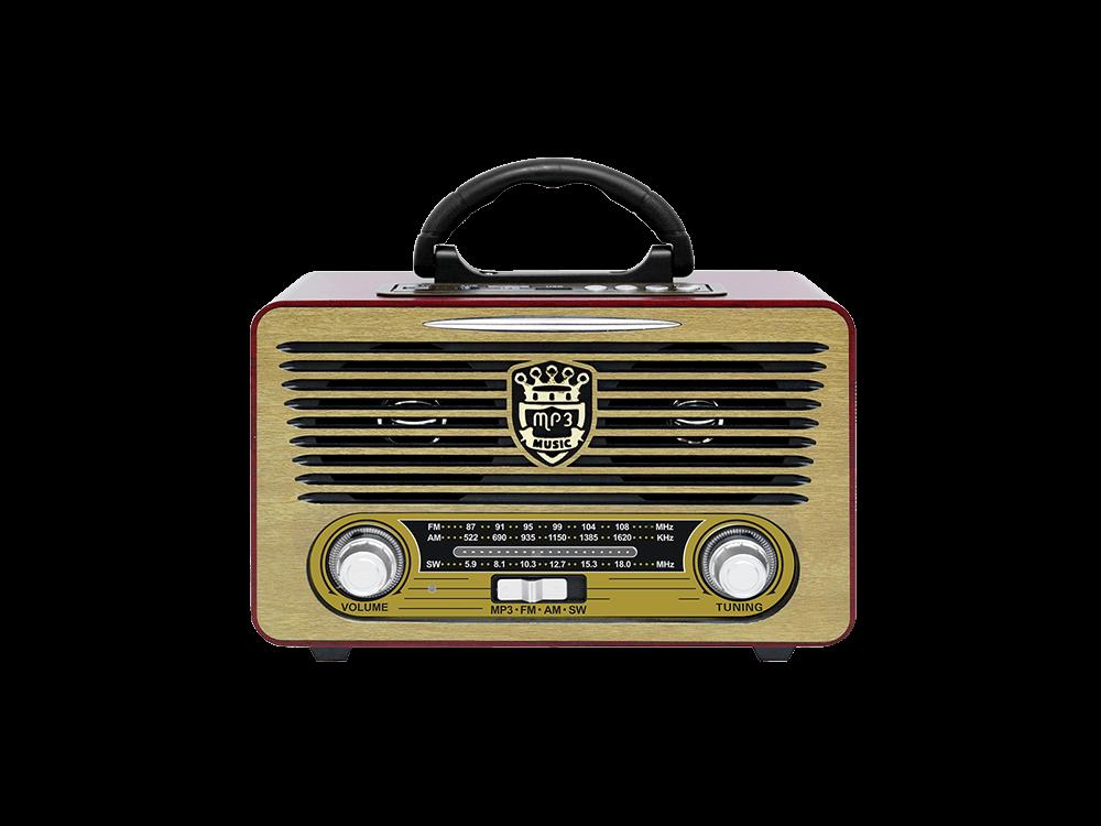 Hometech HT40 BT Nostaljik Radyolu Kablosuz Hoparlör