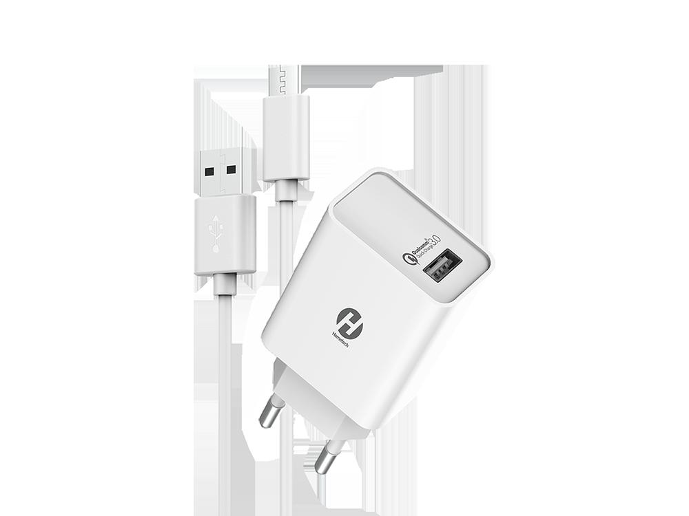 Hometech Qualcomm 3.0 Kablolu Hızlı Type-C Şarj Aleti