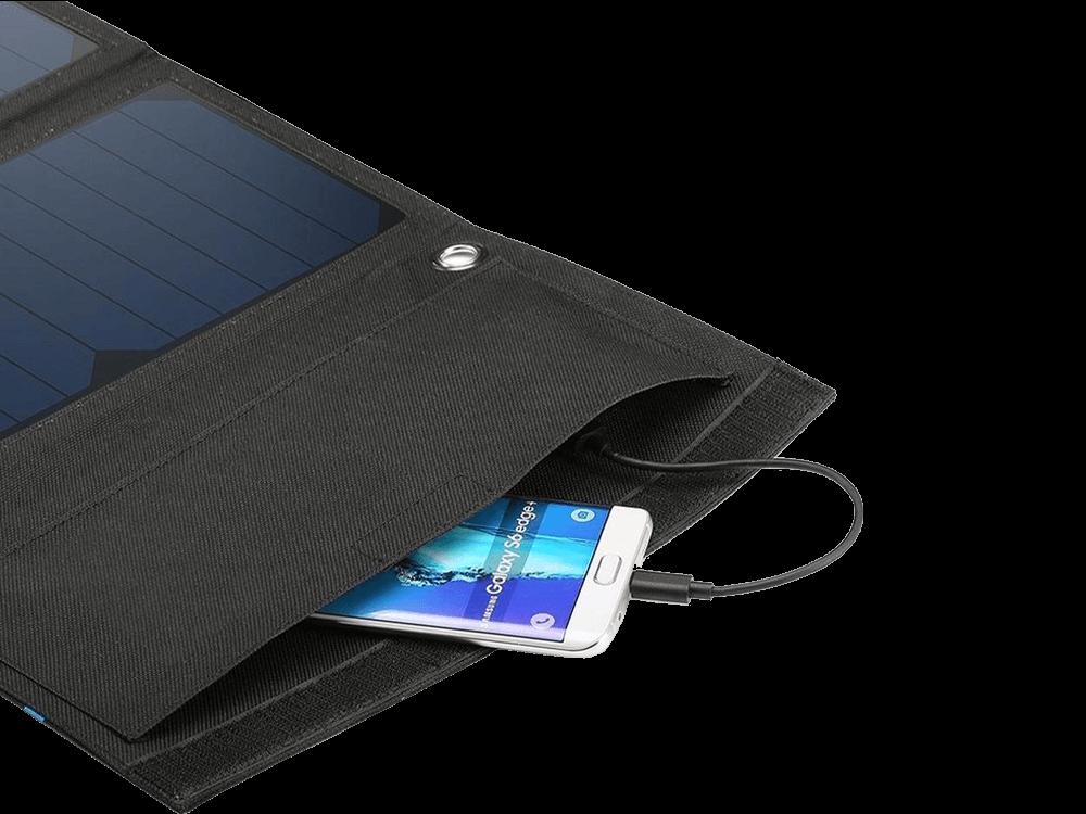 JUO 3 Panelli Güneş Enerjili Solar Şarj Cihazı 21W