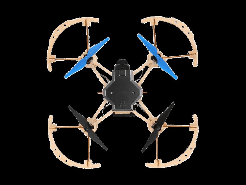 JUO Kendin Yap Ahşap Tahta Drone DIY Kiti