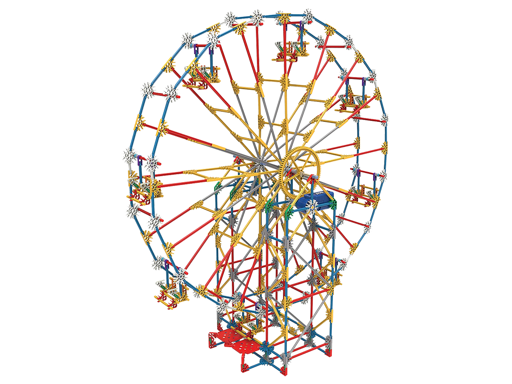 K'NEX 3-In-1 Classic Amusement Park Set (Motorlu) 17035