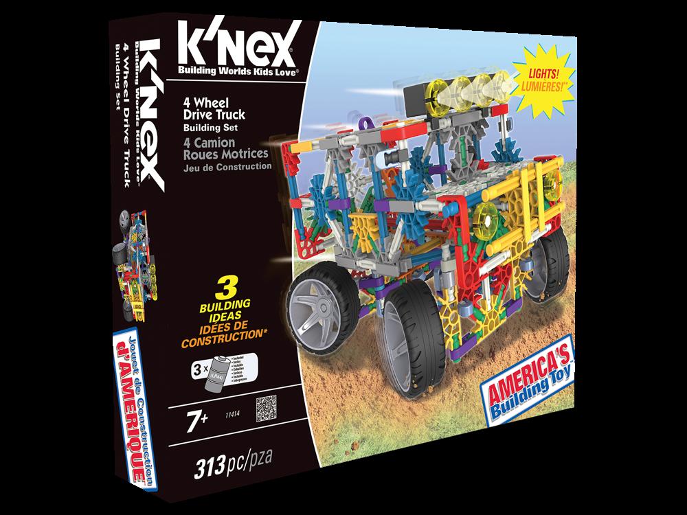 K'NEX 4 Çeker Kamyon Işıklı Set 11414