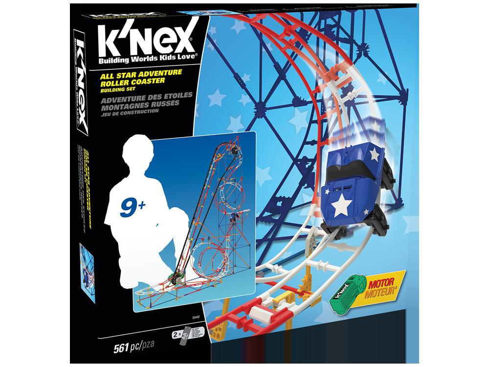 K'NEX All Star Adventure Roller Coaster Set (Motorlu) 59440