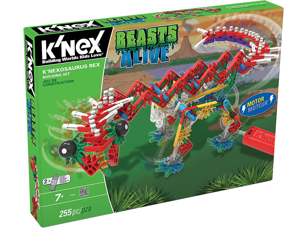 K'NEX Beasts Alive K'Nexosaurus Rex Dinozor Oyun Seti (Motorlu) 15588
