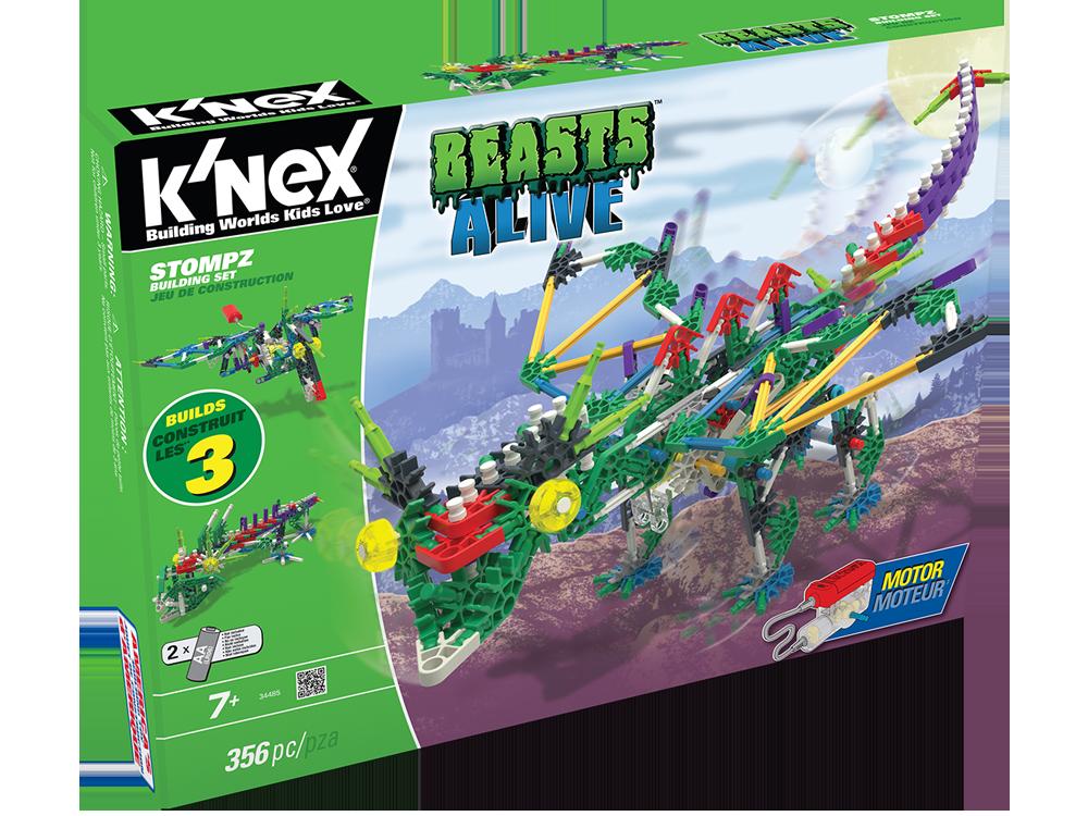 K'NEX Beasts Alive Stompz Dinozor Oyun Seti (Motorlu) 34485