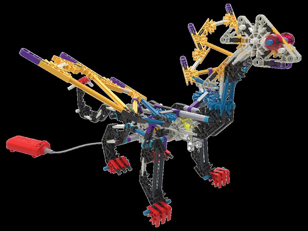 K'NEX Beasts Alive X-Flame Dinozor Oyun Seti (Motorlu) 34692