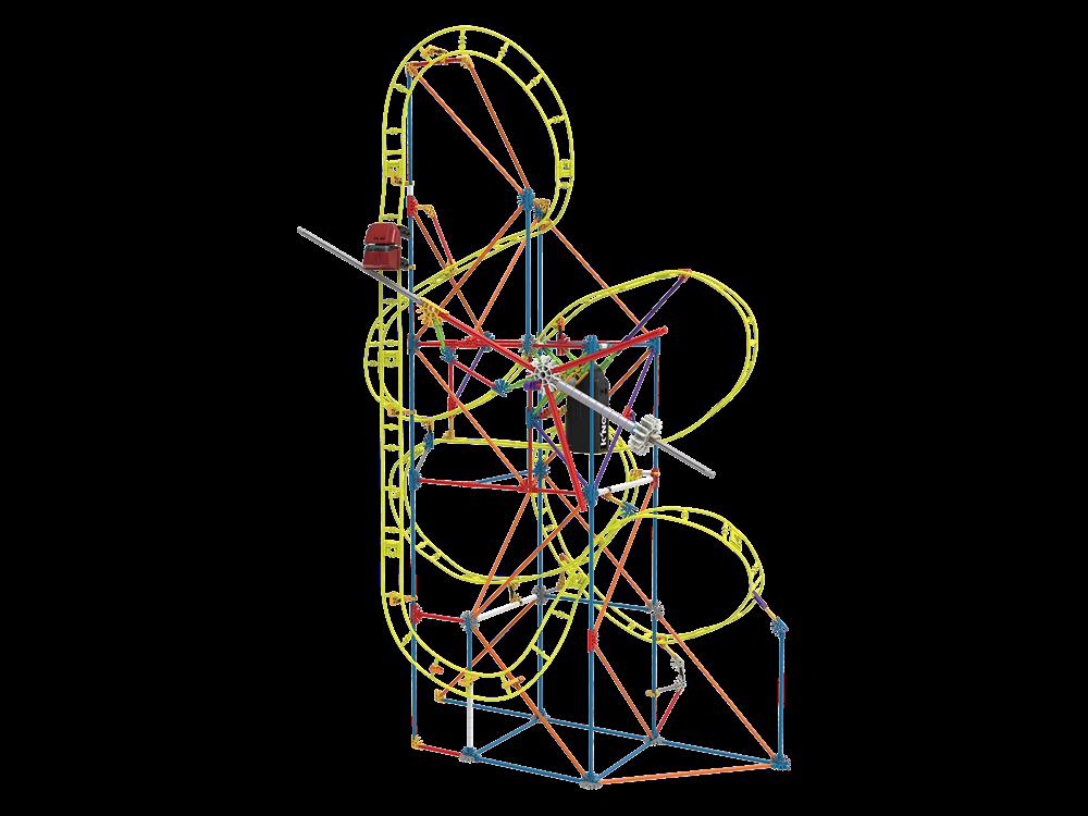 K'NEX Clock Work Roller Coaster Set (Motorlu) 15406