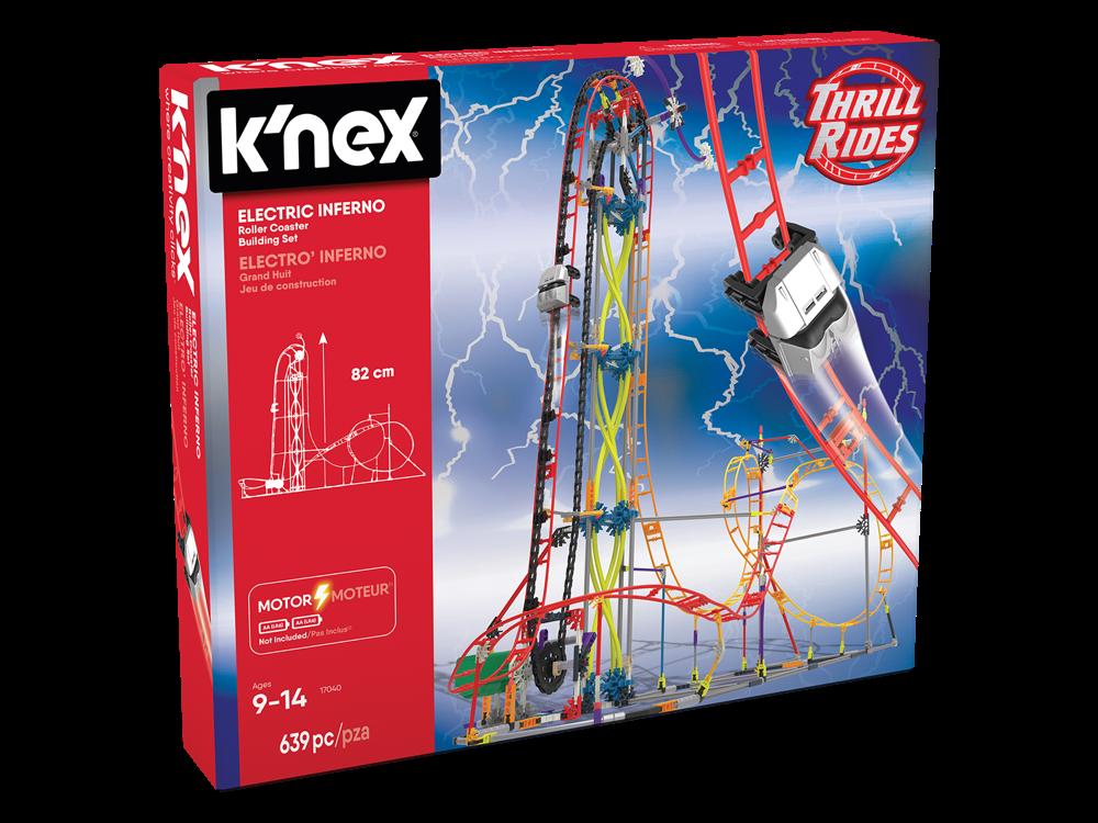 K'NEX Electric Inferno Roller Coaster Seti (Motorlu) 17040