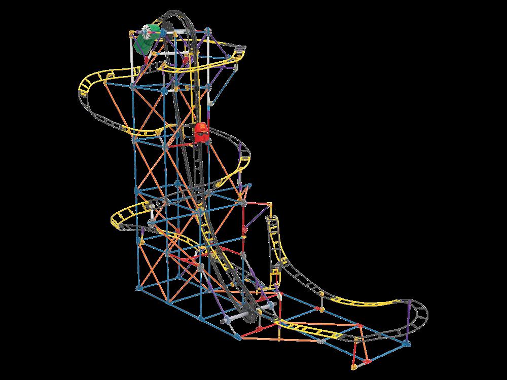 K'Nex Hornet Swarm Roller Coaster Set (Motorlu) 17038