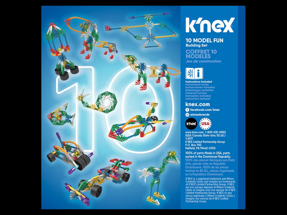 K'NEX Imagine 10 Farklı Model Set 17009